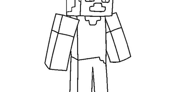 Printable Minecraft 2 Coloring