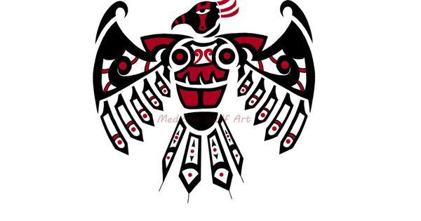Camiseta Thunderbird, ave trueno, nativo americano,