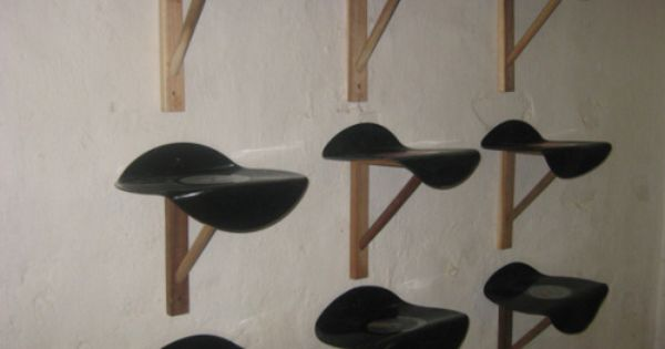 Regale Aus Vinyl Schallplatten Tolle Upcycling Idee