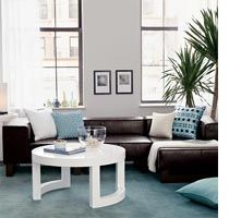 Home Dzine White Home Accents Blue Carpet Bedroom Living Room Carpet Living Room Decor