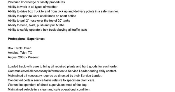 tow truck driver cover letter corporate administrator sample - tow truck driver resume