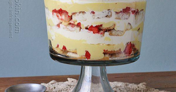 Cream Cake Recipe In English: Traditional English Trifle