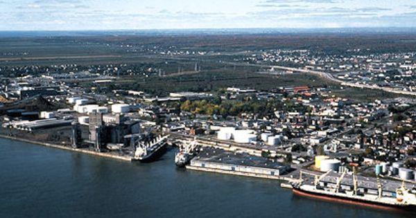 Vue Aerienne De Trois Rivieres Trois Rivieres Quebec Canada Old Quebec