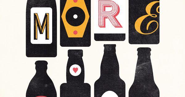 Clever beer illustration.