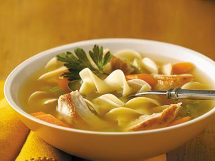 Swanson Sensational Chicken Noodle Soup Recipe Easy Soup Recipes Chicken Broth Soup Food Recipes