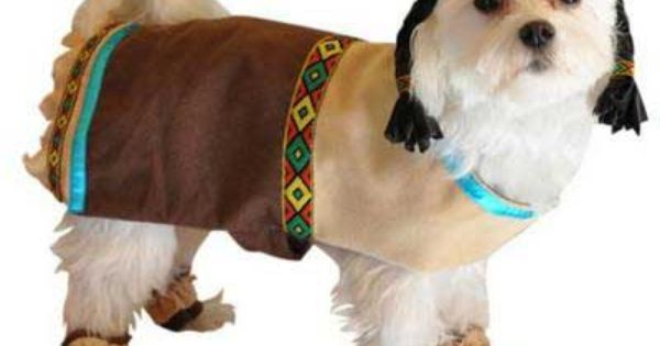 Cherokee Indian Dress For Dogs Dog Halloween Costumes Dog