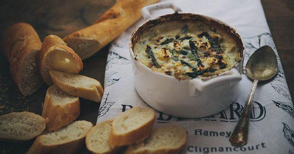 spring vegetable & goat cheese dip | food & drink ...