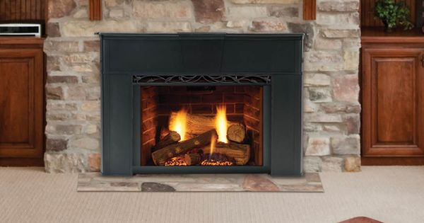 Gas Fireplace Inserts Are Designed For Installation In