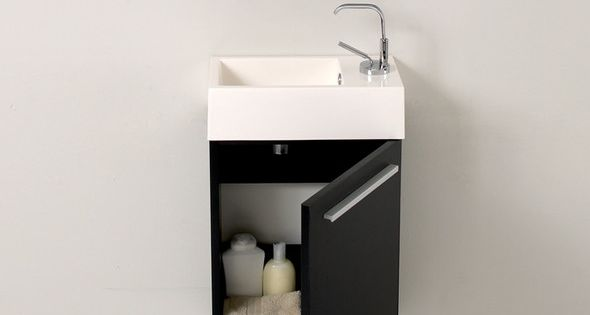 Sinks with vanities for a small bathroom | Small bathrooms ...