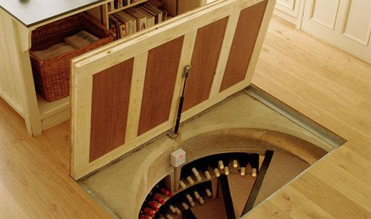 I don't drink wine and therefore don't need a wine cellar... but