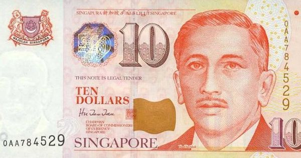 Singapore Dollar Traded Uphill In Relation To The Us Dollar While Singapore Dollar Was Somewhat Changed Against Eur Singapore Dollar Dollar Banknote Singapore