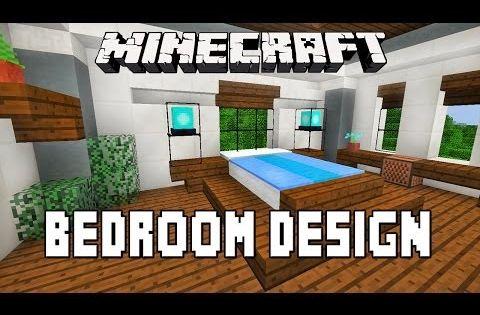 Minecraft Tutorial How To Make A Modern Bedroom Design Modern House Build Ep 15 Minecraft Modern Minecraft Bedroom Modern Bedroom Design