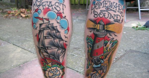 Tattoos Really Into The Nautical Shit Right Now Probably Listening To Too Much Parkway Drive Pattern Tattoo Traditional Tattoo Hold Fast Tattoo