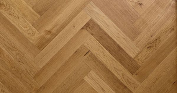 English Oak Engineered Wood Flooring In A Herringbone
