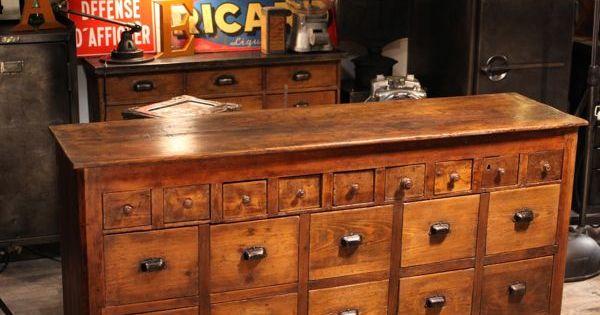 Meuble de m tier ancien deco loft meubles style for Meuble asiatique ancien