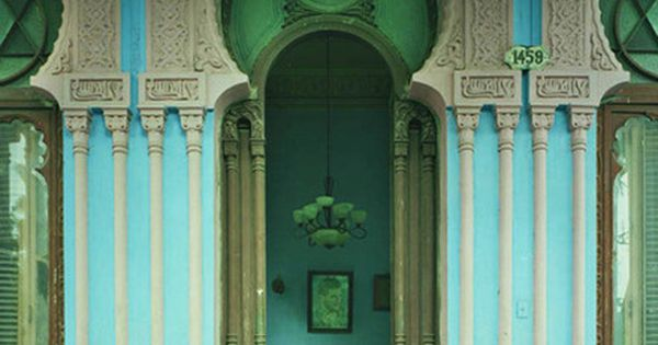 Cuba........ The landscape of Michael Eastman's photographs is lush, organic and green,