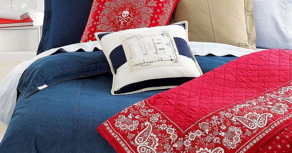 Lauren Ralph Lauren University Denim Bedding Collection