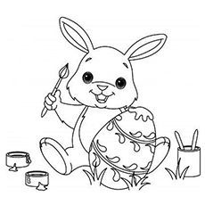 Top 15 Free Printable Easter Bunny Coloring Pages Online Bunny Coloring Pages Christmas Coloring Pages Easter Colouring