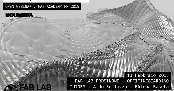 Rhino grasshopper webinar grasshopper rhino for Arquitectura parametrica