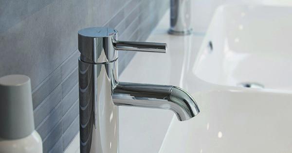 Bruynzeel kuna wastafelkraan badkamer idee sanitair kranen bruynzeel badkamers pinterest - Facing muur voor badkamer ...