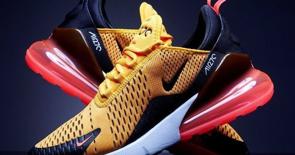 Details about Nike Air Max 270 Tiger University Gold Hot