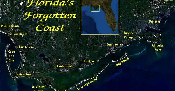 Dog Island Florida Map.The Forgotten Coast Florida My Florida Pinterest Saint