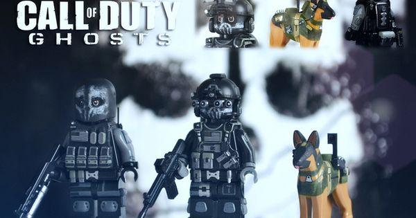 LEGO Call Of Duty Ghosts: Keegan, Logan & Riley