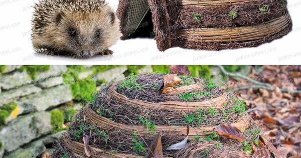 H risson maison abri et refuge en bois fsc refuges for Herisson decoration jardin