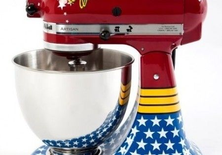 wonderwomen. maybe I should do that to my Kitchenaid?