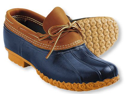 ll bean boots - I've always had a pair of navy duck