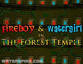 Forest Temple Feuer Wasser Spiele Fur Zwei
