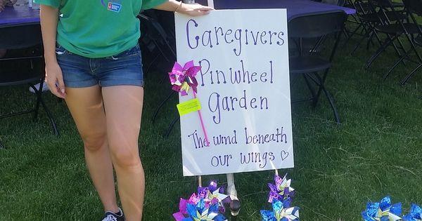 Caregiver Garden Relay For Life Pinterest Gardens