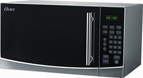 Oster Ogb61101 11cubicfeet Microwave Oven Stainless Steel Click On The Image For Addition Stainless Steel Microwave Countertop Microwave Stainless Steel Oven