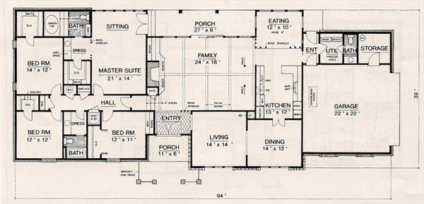 Modern House Plan With 4 Bedrooms And 2 5 Baths Plan 3053 House Plans Modern House Plan How To Plan