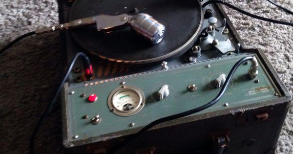 My Presto 8k Direct To Disc Recorder