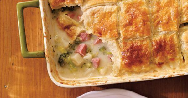 Pot pie au jambon pour le bedon sal pinterest - Ricardo cuisine concours ...