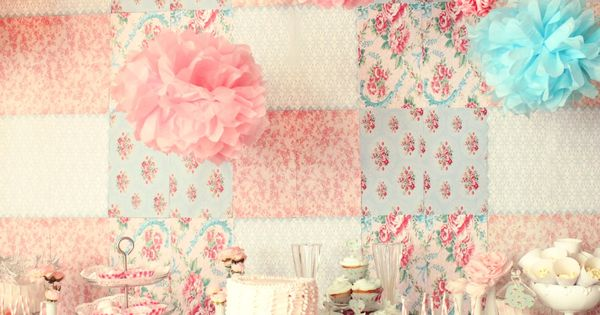 A great shabby chic princess party that only just begins with the