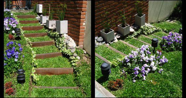 Jardin en pendiente buscar con google jard n for Google jardin