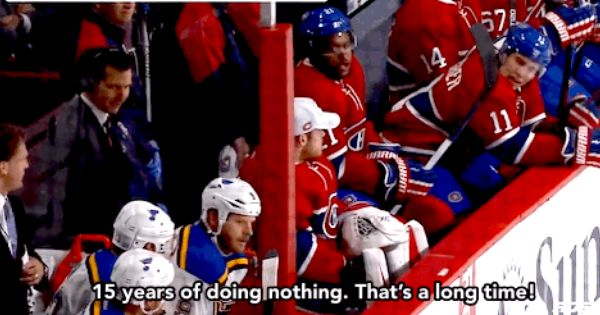 Was Watching Rds And The Announcers Narrated This Hilarious Exchange Between Gally And Ott Gally What Do You Even Do Hilarious Hockey 15 Years