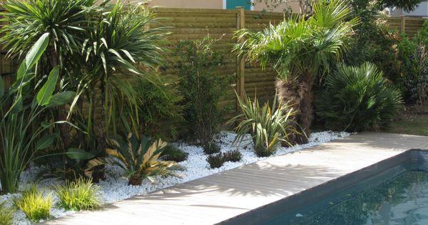 Cr ation d 39 un espace paysager en bord de piscine cr ation for Entretien jardin marseille
