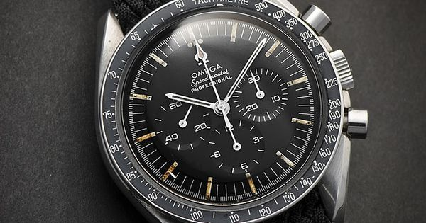 The incredible Speedmaster by Omega. (the first watch worn ...