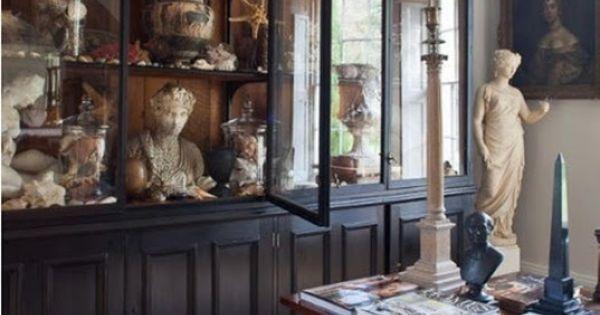 Natalie Haegeman Interior Image  Belgian Pearls: Cabinets of curiosities  Brocante ...