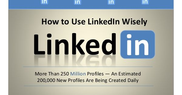 How To Use LinkedIn Wisely by ResumeToReferral Resume - how to search resumes on linkedin