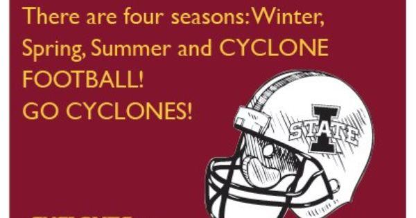 The 4th Season Iowa State Football Iowa State University Iowa