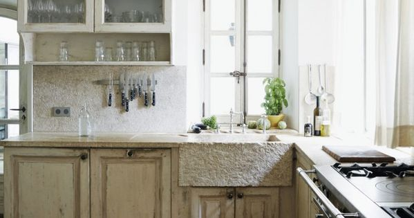 Frederic Fekkai Provence house kitchen seen on Hello Lovely Studio