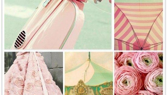 pink inspiration board mood board by mysmartsave f rger paletter pinterest f rger. Black Bedroom Furniture Sets. Home Design Ideas