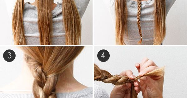 Such a cute braided hair look! Wish I had longer hair... braid hairstyle longhairstyle longhairdontcare