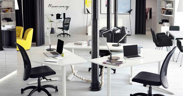 pr agentur eingerichtet u a bekant schreibtischen 5 eckig in wei bekant konferenztisch in. Black Bedroom Furniture Sets. Home Design Ideas