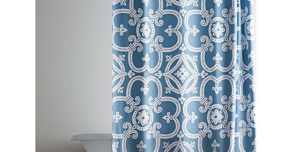 Legends® Belleza Cotton Shower Curtain | The Company Store ...
