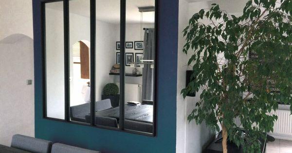 Une verri re miroir avec ikea salons ikea hack and for Combien coute une verriere